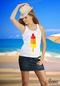 Zomerse t-shirt ontwerpen bij Bedrukt® op www.bedrukt.nl