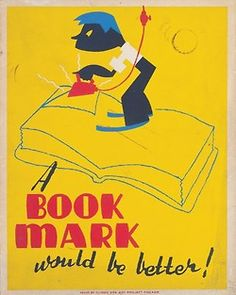 More vintage library posters (all found via the big Google machine)