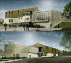 Central Senior Center for DeKalb County | Houser Walker Architecture
