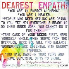 Psychic Empath, Intuitive Empath, Empath Abilities, Psychic Abilities, Spiritual Guidance, Spiritual Awakening, Empath Traits, New Energy, Psychic Readings