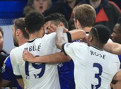 Chelsea 2-2 Tottenham: Eden Hazard seals Premier League glory for Leicester City and ends Spurs' title dream as Belgian's wonder strike secures draw in vicious London derby