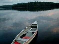 15. The calm on the lake first thing in the morning from my Adirondack house