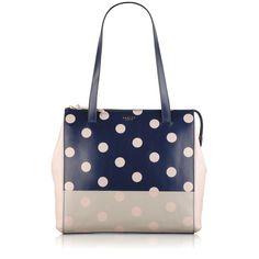 Pack your essentials in our polka dot 'Portobello' tote!