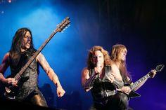 Manowar - die Rocklegenden in der Grugahalle Essen (14.1.).