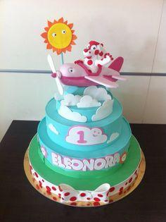 pimpa nuvole cake