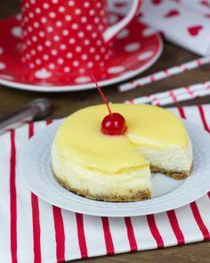 Objetivo: Cupcake Perfecto.: Mini-Cheesecakes de limón para San Valentín