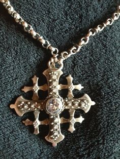 Sale Antique Hand Made 800 Silver Jerusalem Cross by Mother Jewelry, I Love Jewelry, Jewelry Design, Jerusalem Cross, Cross Necklaces, Cross Art, Christian Symbols, Israel, Antique Jewelry