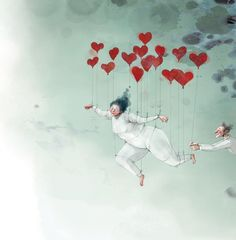 made by: Lisa Aisato Lisa, Character Sketches, Fire Heart, Illustrators, Cool Art, Illustration Art, Cartoon, Drawings, Artwork