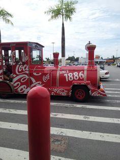Coca cola train