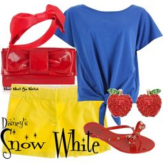 Inspired by Disney's Snow White.