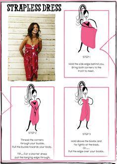 Instant dress!