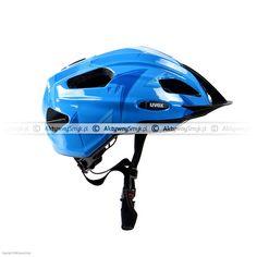 Kask dla dziecka Uvex Quatro Junior Piranha Blue Bicycle Helmet, Hats, Blue, Hat, Cycling Helmet, Hipster Hat