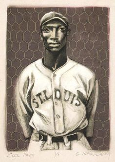 Cool Papa Bell by Gary Kelly