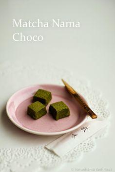 Ketunhäntä keittiössä: 抹茶生チョコ ・ Matcha Truffles