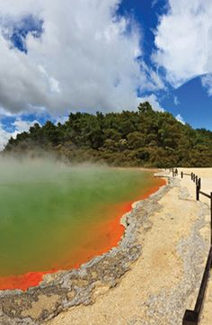 Explore New Zealand (including the hot springs of Rotorua) on this 10-day vacation, which includes a car rental