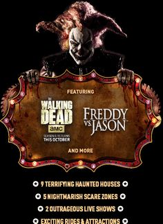 Enter to win a trip to Universal Studios Florida Halloween Horror Nights for 2. Includes Round trip air, 3 Nights on-site accommodations, 3 Days of admission to Universal Studios and Universal's Islands of Adventures, ground transportation, and more. (For travel September 30 - November 2, 2015) Ends August 31, 2015