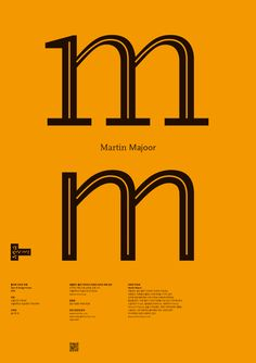 Type & Design Forum: Martin Majoor, poster
