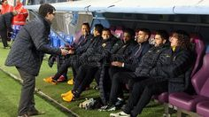 The team #FCBarcelona