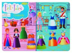 FeltTales Cinderella Storyboard -- This is an Amazon Affiliate link. You can get more details by clicking on the image.
