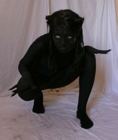 tasastock.deviantart.com  You could do it in blue and be the shape shifter from xmen