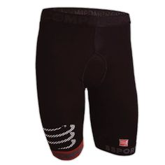 Compressport Underwear Compression Shorts ( Unisex ) The seamless Compressport fibre is exclusively woven on medical compression machines allowing for millimetre-precision compression graduation, targeted around the thighs. This enables the stimulation of blood flow and oxygenation, evacuation of toxins, good knee alignment, shock absorption and the reduction of muscle vibration thus delaying muscle fatigue.