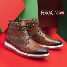 Para combinar com jeans ou calças mais formais, os modelos da linha Fluence são arrojados e elegantes! O que acharam? #ferracini24h #shoes #cool #trend #brasil #manshoes