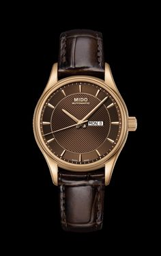 Mido Women s Belluna with a brown dial and a brown leather band style     M001 46ee2991083