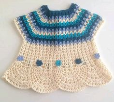 Instagram. PICTURE ONLY for inspiration. Crochet girl's top.