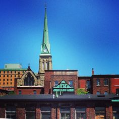 Heritage- uptown Saint John NB- Trinity church