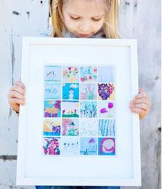 8 Cool Ways to Display Your Child's Artwork