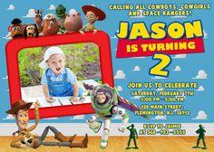 Toy Story Invitation Birthday Party por ForLittleKids en Etsy