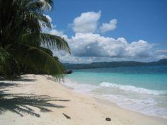 Blue sky, sandy beach, wIsh I was here now.