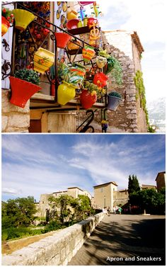 Gourdon of Alpes-Maritimes, France by @Rowena Dumlao Giardina (Apron and Sneakers)