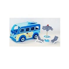 My Little Kombi Bus Blue $75.95 #sweetcreations #baby #toddlers #kids #toys #cars #transport