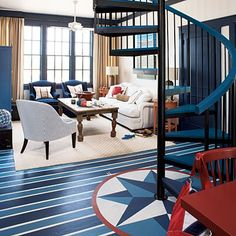 50 Painted Floors Inspirations» Photo 3