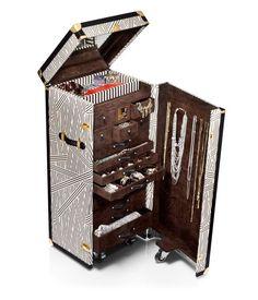 A girl can dream!  henri bendel jewelry trunk - designer luggage - wheeled luggage