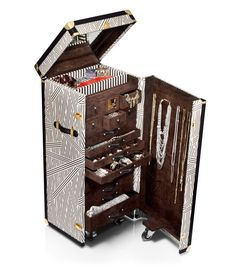 A girl can dream!  henri bendel jewelry trunk - designer luggage - wheeled luggage
