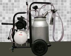 Mobile Einzelplatz Melkmaschine mit  Milchtank Melktechnik Melken Milch NEU