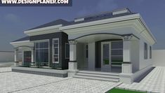 Designed Home Plans - A Turn-key Construction Services House Plans Mansion, My House Plans, House Plans With Photos, Duplex House Plans, Bungalow House Plans, Family House Plans, Flat House Design, Best Modern House Design, Bungalow House Design
