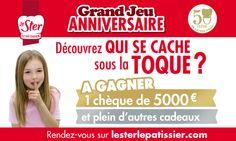 Le Ster Le Pâtissier fête ses 50 ans : Concours