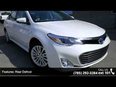 2015 Toyota Avalon Hybrid XLE Touring - Lewis Toyota - To...  Just Arrived*** Ready for anything! This gas-saving Vehicle will get you where you need to go** Isn't it time you got rid of that old rattletrap and got behind the wheel of this impeccable Sedan***