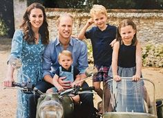 The photo shows the Duke of Cambridge kissing Prince Louis, beside a smiling Princess Charlotte and Prince George. The snap by their mother Kate Middleton, was taken in Norfolk earlier this year. Prince William Young, Prince William Family, Kate Middleton Prince William, Prince William And Catherine, Charles And Diana, Young Prince, Prince William Children, Kate Middleton Family, Duke William
