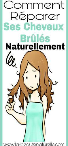 Comment réparer ses cheveux brûlés naturellement #cheveux #brûlés