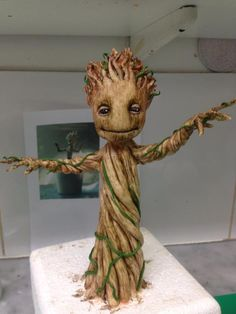 This Dancing Baby Groot Cake Is The Best Yet