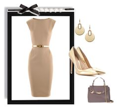 """Outfit # 2544"" by voltinimiriam ❤ liked on Polyvore featuring Michael Kors, Gianvito Rossi and Versace"