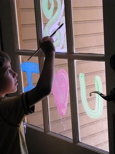 DIY window paint
