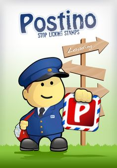 """Postino - Send postcards (FREE) Create a real postcard and send it!  We don't just mean """"eCard"""" (although Postino can do that too). We mean """"a real, physical postcard"""". That's right, we print your postcards on super high-quality paper and send them worldwide in few days. How cool is that?"""