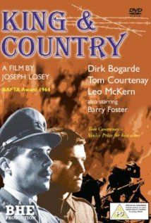 King & Country (1964) Poster During World War I, an army private is accused of desertion during battle. The officer assigned to defend him at his court-martial finds out there is more to the case than meets the eye. Pinned by HistorySimulation.com