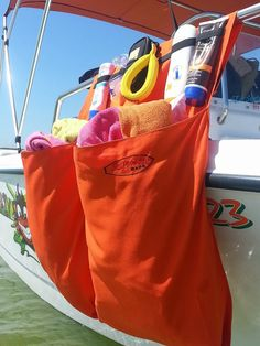 2 Pocket Boat Organizer Bag designed to keep all by SurfmonkeyBags