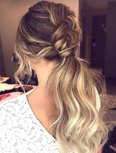 Braided Ponytail Hairstyles 2018 for Spring Summer